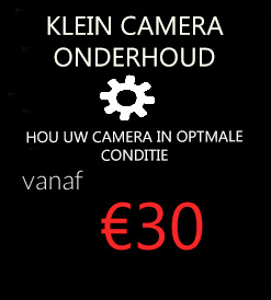 camera onderhoud